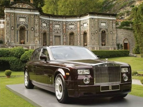 Электромобиль Rolls-Royce Phantom