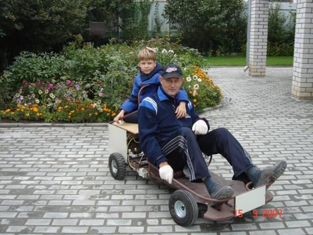 Самодельный Детский Электромобиль своими руками