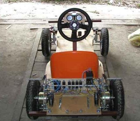 Как сделать ребёнку электромобиль